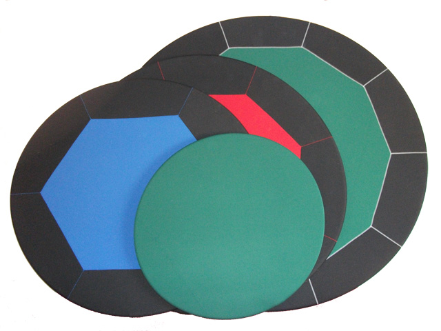 Poker Hoody - 54 inch round table pad